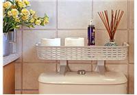 דיל יומי-  פטנט אחסון לשירותים: מדף ניאגרה צף הנותן אחיזה טובה, ואחסון מוצרי טואלטיקה ללא צורך בהברגה!