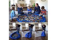 """הדיל היומי ! גאוני! משטח פעילות לילדים שהופך לשק איסוף לכל הצעצועים והבאלגן בהנפת יד וללא מאמץ החל מ39 ש""""ח בלבד !"""
