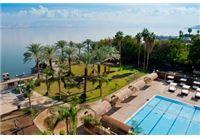 מזמינים ונהנים מחופשה מפנקת על שפת הכנרת במלון לאונרדו טבריה ב-45% הנחה!