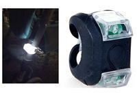 פנס בטיחות לד לעגלה ולטיולון עם 3 מצבי תאורה