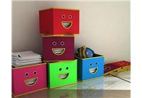 5 קופסאות קנבס מעוצבות לאחסון צעצועים בגדים וחפצים ב- 99!