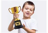 גביע זהב/כסף מעוצב עם שם הילד/ה כולל הקדשה/משפט