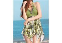 בגד ים יפייפה בעיצוב אחר וייחודי בתוספת בד שיפון...שיגרום לך להרגיש נוחות מושלמת במידות XS-3XL
