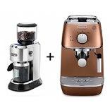 מכונת אספרסו ומטחנת קפה מקצועית דלונגי