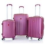 מזוודה 20 24 28 סט Swiss דגם Apex