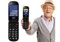"""טלפון סלולרי מתקפל למבוגרים -  נוח והכי קל לתפעול!טלפון סלולרי מתקפל למבוגריםרק 294 ש""""ח!"""