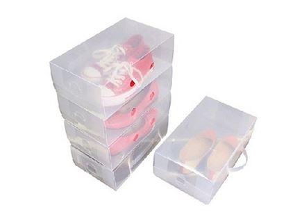 האחסון המושלם לנעליים (אבל לא רק)! קופסאות שקופות לאחסון, לשמירה על הסדר, הניקיון וכמובן גם על הנעליים שלכם –  לנשים ולגברים!  69 במקום 140