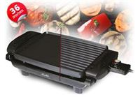 SAUTER גריל חשמלי בריאותי דו צדדי 1500W מבית אלקטרה לבישול וצלייה במינימום שמן !