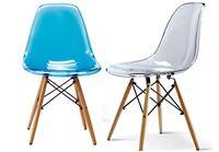 כסא שקוף לפינת אוכל בעיצוב מודרני