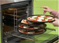 סט 4 מגשי פיצה כולל מעמד LA PIZZA