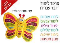 פרפר לימודי דובר עברית- צפו בוידאו