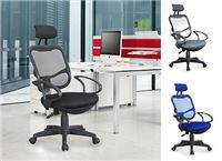 שיא הנוחות! כסא מנהל לבית/משרד עם משענת ראש בשלשה צבעים לבחירה