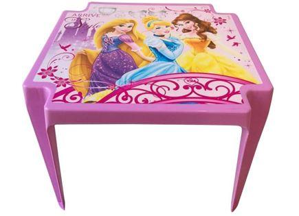 שולחן פלסטיק נסיכות
