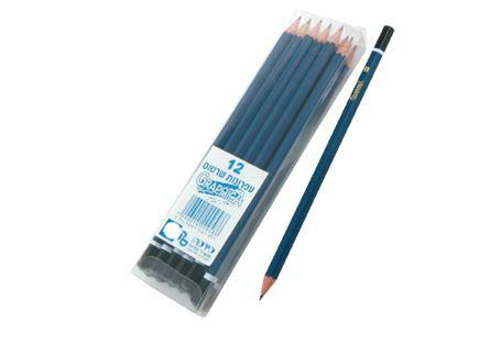 סט 12 עפרונות  B2