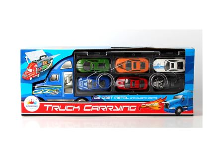 משאית קטנה +מכוניות