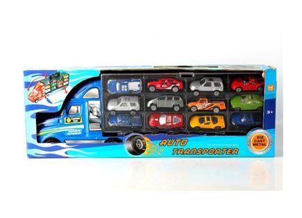 משאית גדולה +מכוניות