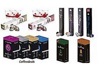 300 קפסולות תואם nespresso  מארז מעורבב 3 מותגים