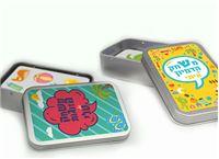 משחקי קלפים מיוחדים לילדים לשיפור מיומנות החשיבה והריכוז כולל קופסה מעוצבת עם שם הילד/ה החל מ- 29 ₪ בלבד!