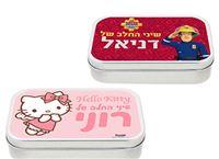 מתנה קסומה לשים מתחת לכרית! קופסאות שיני חלב מעוצבות בדמויות אהובות עם שם אישי