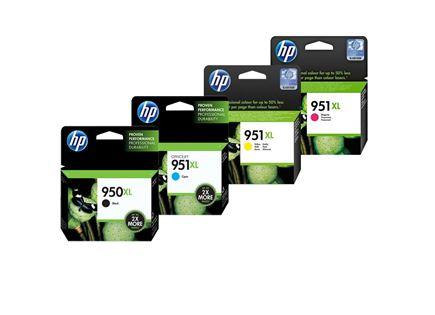 סט דיו מקורי HP 950XL 951XL