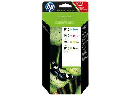 סט דיו מקורי HP 940XL