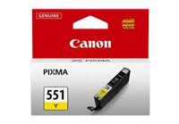 דיו צהוב מקורי CANON CLI 551Y