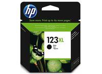 דיו שחור מקורי HP 123XL F6V19AE