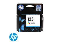 דיו צבעוני מקורי HP 123 F6V16AE