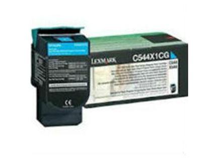 טונר סיאן מקורי Lexmark c544x1cg