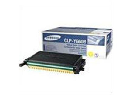 טונר צהוב מקורי Samsung CLP Y660B
