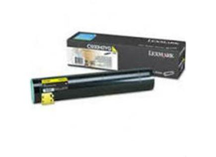 טונר צהוב מקורי Lexmark c930h2yg