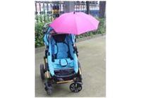 מטריה לעגלת התינוק ורוד