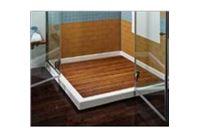 משטח פרקט למקלחת ולאמבטיה ריבוע