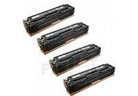ארבעה טונרים תואמים HP 131X CF210X