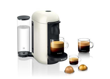 מכונת קפה כולל מבצע מקציף אירוצ'ינו 3 NESPRESSO דגם Vertuo Plus GBC2