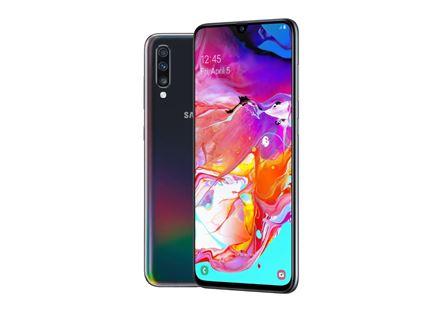 """טלפון סלולרי 6.7"""" Samsung דגם Galaxy A70 SM-A705"""