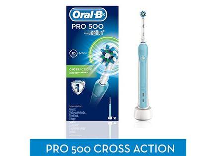 ORAL-B מברשת שיניים חשמלית נטענת דגם 500 במבצע