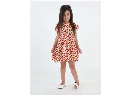 שמלה מסתובבת אל אדום ילדות סטייל ריבר