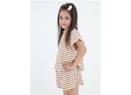 חליפה ספורטיבית סוני בז' ילדות סטייל ריבר