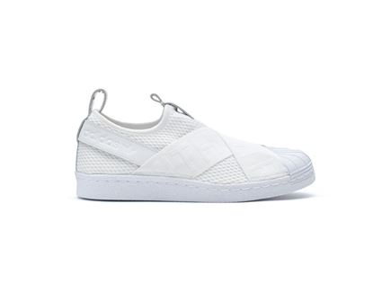 סניקרס לנשים ללא שרוכים - Adidas Superstar