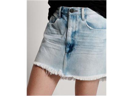 חצאית וואן טיספון כחול לנשים - ONE TEASPOON WILDE BLUE VANGUARD