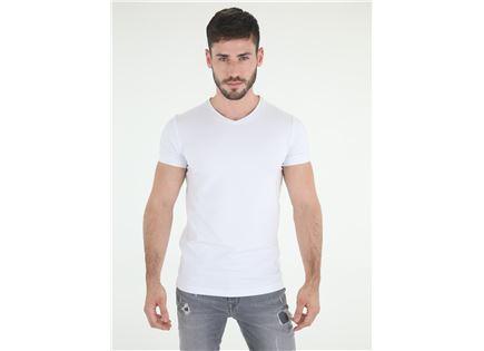 חולצת ריפליי לבנה לגברים