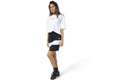 חצאית ריבוק לנשים- JERSEY SKIRT BLACK