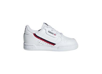 נעלי אדידס קונטיננטל 80 לבנות לתינוקות - ADIDAS CONTINENTAL 80