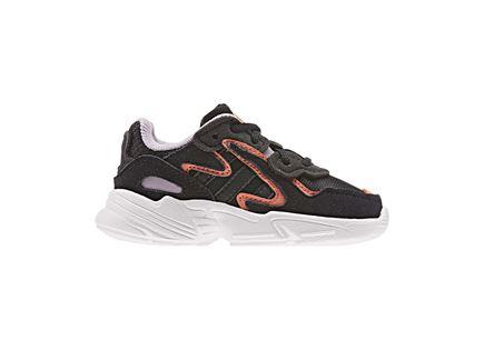 נעלי אדידס יאנג 96 שחורות לתינוקות - ADIDAS YUNG 96