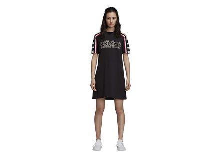 שמלה אדידס לנשים- TEE DRESS שחור