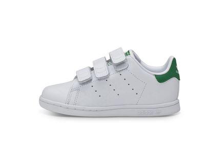 סניקרס ילדים לבן ירוק - Adidas Stan Smith