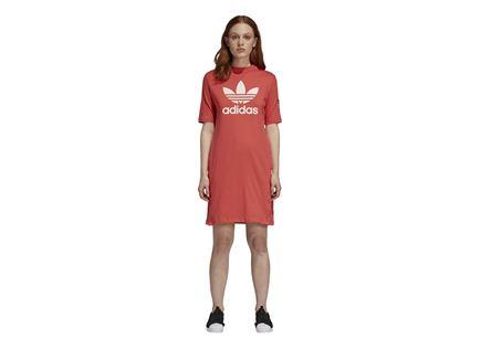 שמלה אדידס לנשים- ADIBREAK TEE DRESS ורוד