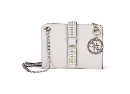 GUESS נשים // EILEEN MINI CONVERTIBLE CROSSBODY STONE