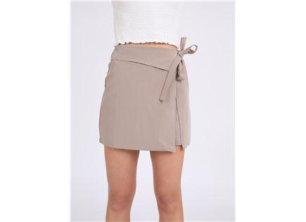 חצאית קשירה מדלין בז' סטייל ריבר